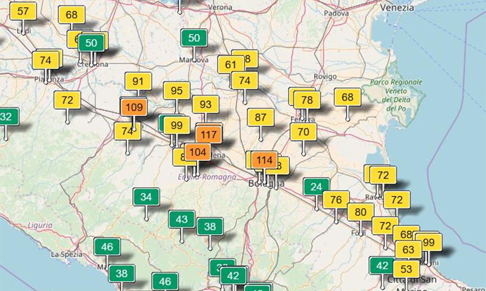 Inquinamento Bologna
