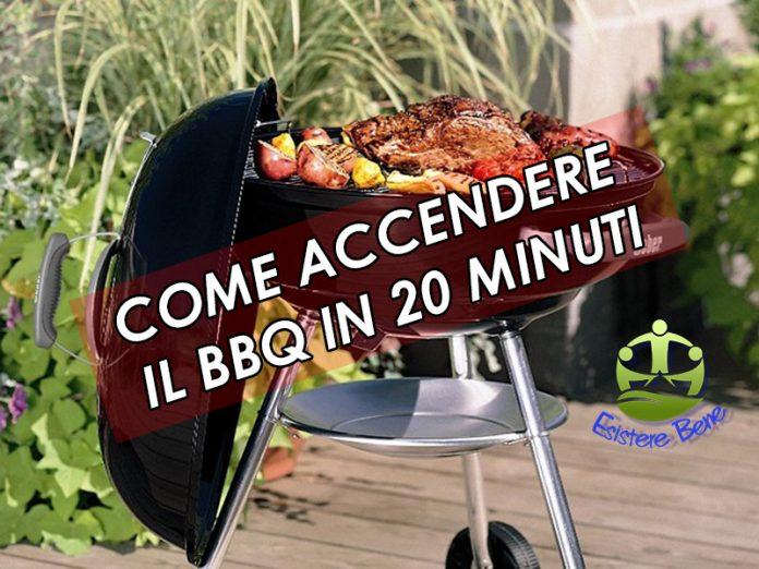 come accendere il barbecue