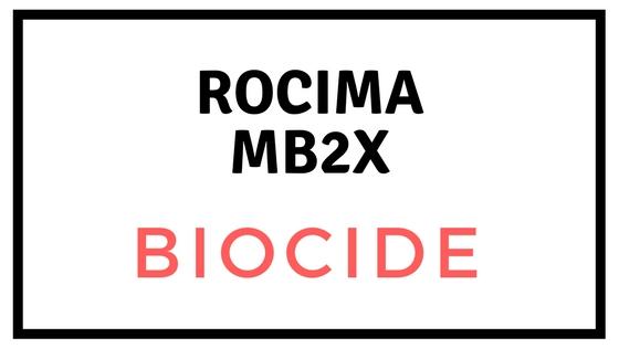 rocima mb2x biocide