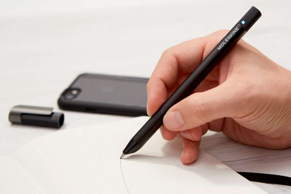 Moleskine Pen+ Ellipse - smart pen Moleskin