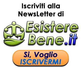 iscriviti alla newsletter di esistere bene